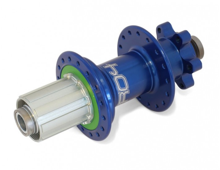 Rumblebikes-Hope Pro 4 trasero 32h 12x150mm Azul-Bujes