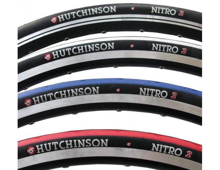 Cubierta Hutchinson Nitro 2 aro rígido 700x23 negro/azul