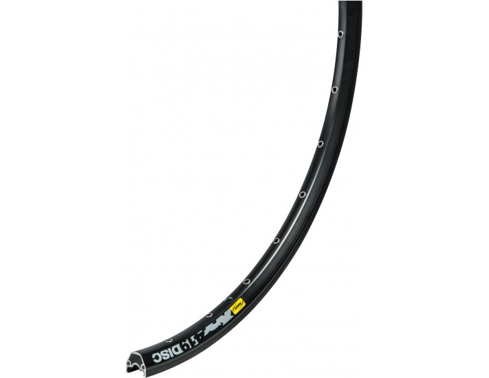 Mavic XM419 26 inch disc rim, black anodised, UST ready