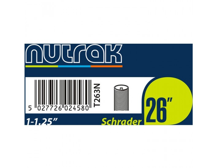 "Cámara Nutrak 26"" 1-1.25 Schrader"