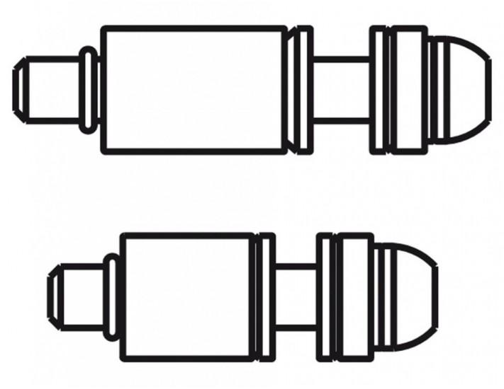 Set tornillos titanio Avid 20 v para RD 180mm RT 160mm CPS Standard
