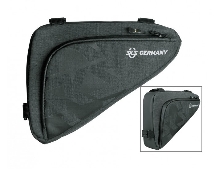 Bolsa de cuadro SKS Traveller Edge negro 250x60x170mm 132g 10L