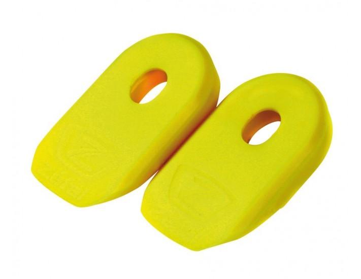 Proteccion bielas Zefal Crank Armor amarillo por par