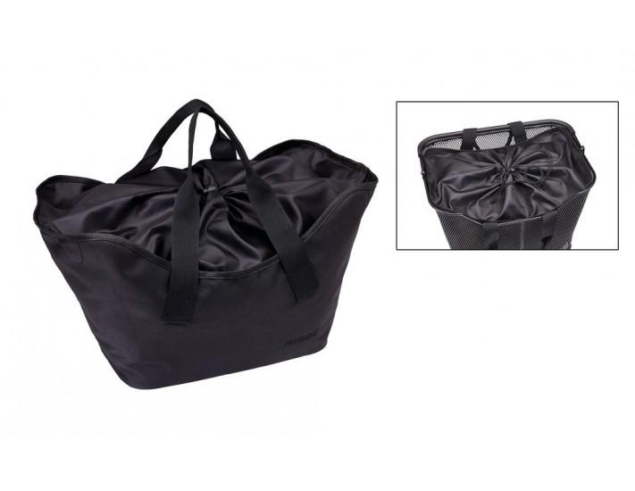 Bolsa para cesta Racktime Lea 24x30x22cm 16litros negro