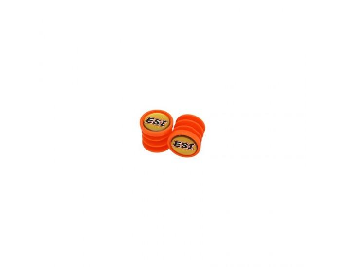 Rumblebikes-ESIgrips Bar Plugs Naranja-Anillas y tapones