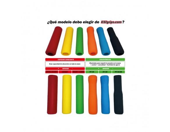 Rumblebikes-ESIgrips Chunky Negro-Puños