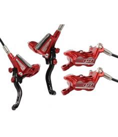 Par de frenos Hope Tech 3 E4 Rojo