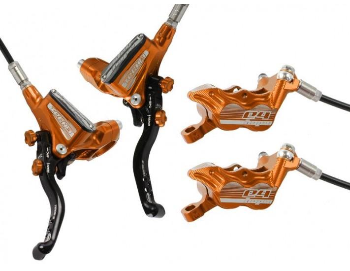Hope Tech 3 E4 brakeset Orange