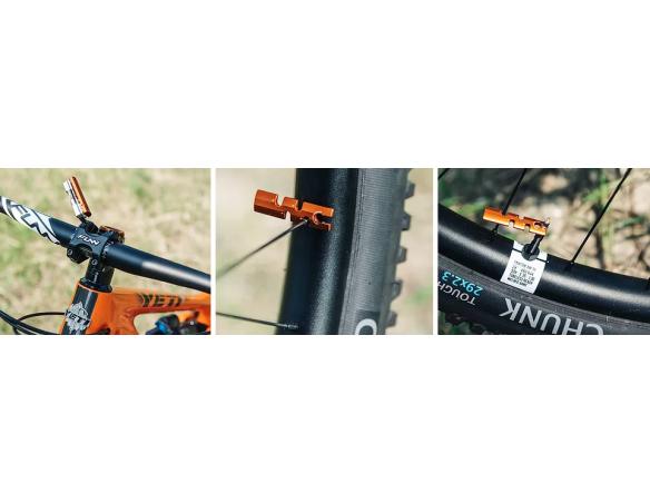 Granite Stash Multi Tool w/ 42mm bottom cap Orange