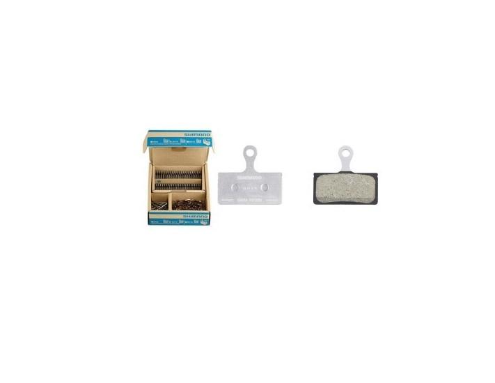 Rumblebikes-Shimano pastillas G03A caja de 25 und-Pastillas de
