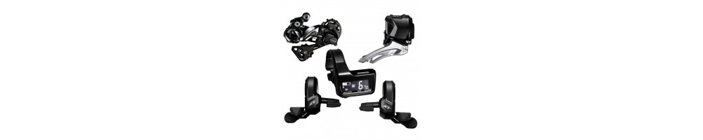 Electronic groupsets - Rumble Bikes